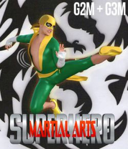 SuperHero Martial Arts for G2M and G3M Volume 1