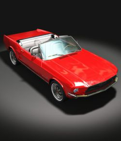 FORD MUSTANG CONVERTIBLE 1967 for Vue