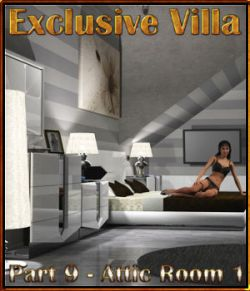 Exclusive Villa 9: Attic Room 1