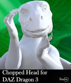 Chopped Head for DAZ Dragon 3