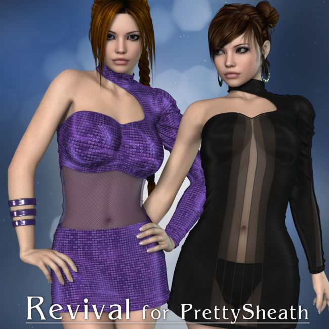 Revival for Pretty Sheath V4_Poser
