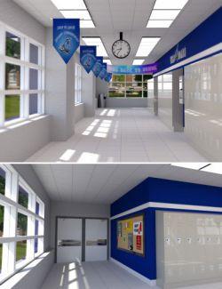 Highschool Hallway