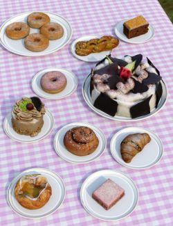 Sweet Bakery Props