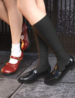 Mary Janes and Tassel Shoes for Genesis 8 Female(s)