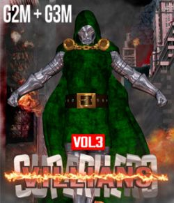 SuperHero Villians for G2M and G3M Volume 3