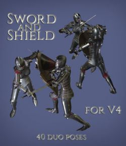 Sword and Shield for V4 MEGAPACK
