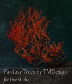 Fantasy Trees for Daz Studio