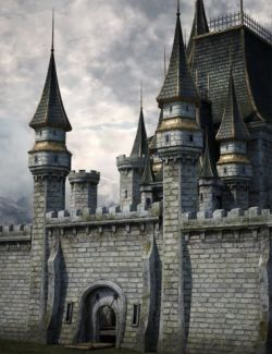 Fantasy Castle Surround 2 Iray