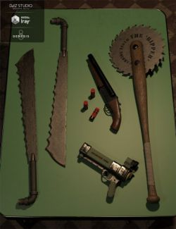 Post Apocalypse Weapon Set 1