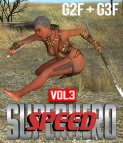 SuperHero Speed for G2F and G3F Volume 3