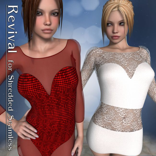 Revival for Shredded Seamless V4_Poser