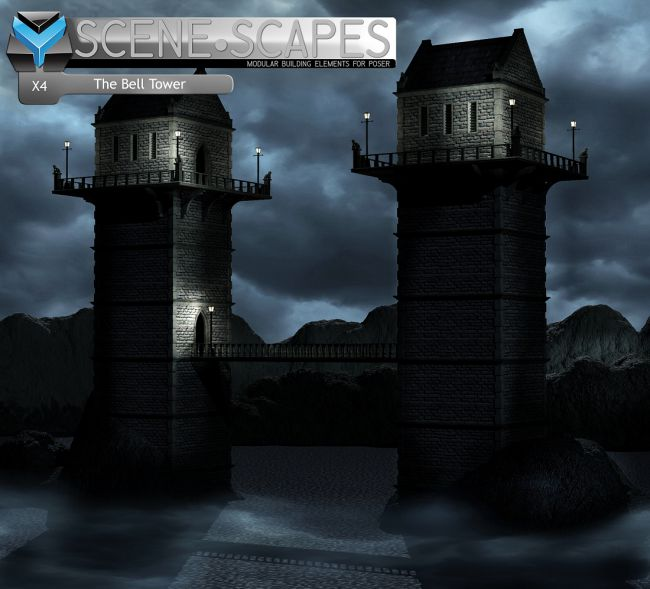 SceneScapes X4 -The Bell Tower