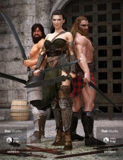 Heavy Fantasy Blades