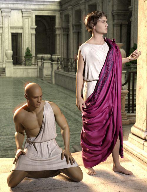 SY dForce Roman Clothing Pack Genesis 8 Male