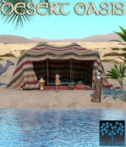 Desert Oasis for Poser