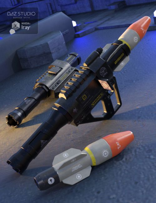 MAGMA-930 Missile Launcher for Genesis 2, 3 and 8 Male(s) and Female(s)