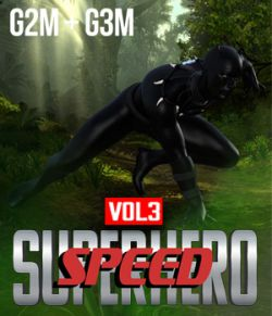 SuperHero Speed for G2M and G3M Volume 3