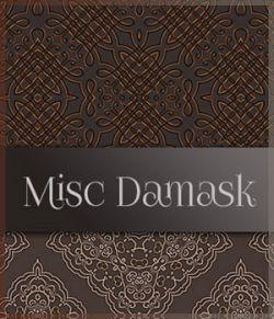 MR- Misc Damask