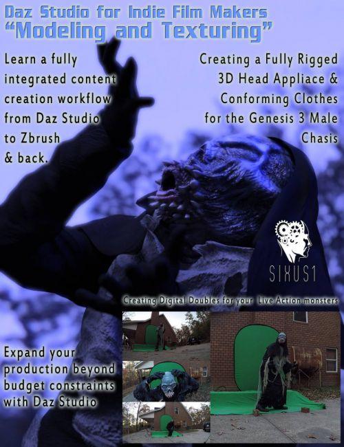 Indie Filmmakers Tutorial: Modeling and Texturing for Daz Studio