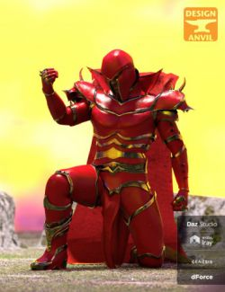 DA dForce Super Villain Armor for Genesis 8 Male(s)