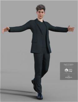 H&C Weekend Casual Suit for Genesis 8 Male
