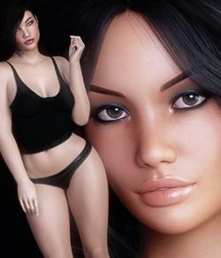 3DS Bella Heads & Bodies Genesis 8 Females