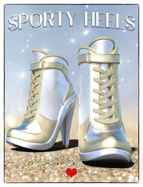 Sporty Heels for Genesis 8 Female(s)