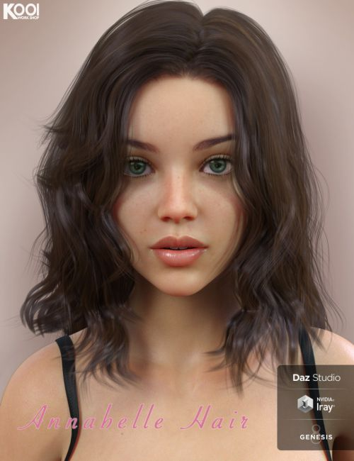Annabelle Hair for Genesis 8 Female(s)