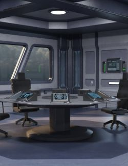 Sci Fi Conference Room