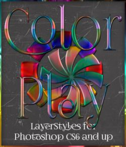 Color Play Photoshop Styles