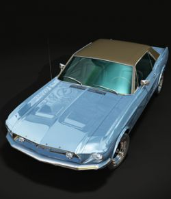 FORD MUSTANG 1967 GT- for VUE