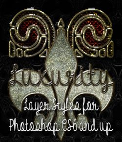 Luxurity Photoshop Styles