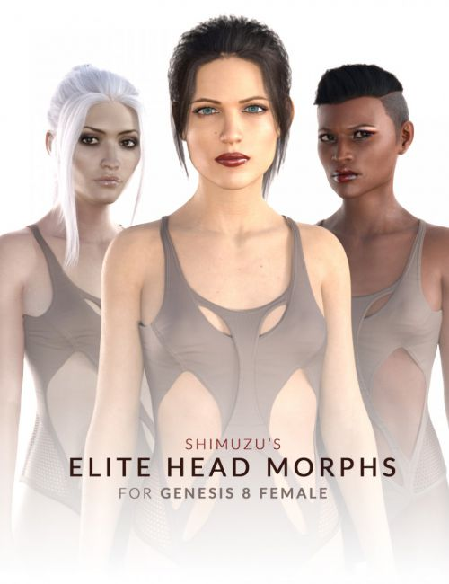 Shimuzu's Elite Head Morphs for Genesis 8 Female