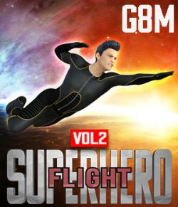 SuperHero Flight for G8M Volume 2