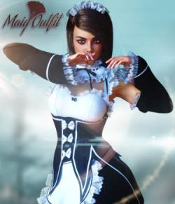 Maid Outfit for G8F