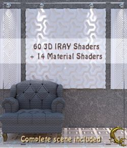3D Planes maker. - IRAY shaders for DAZ -