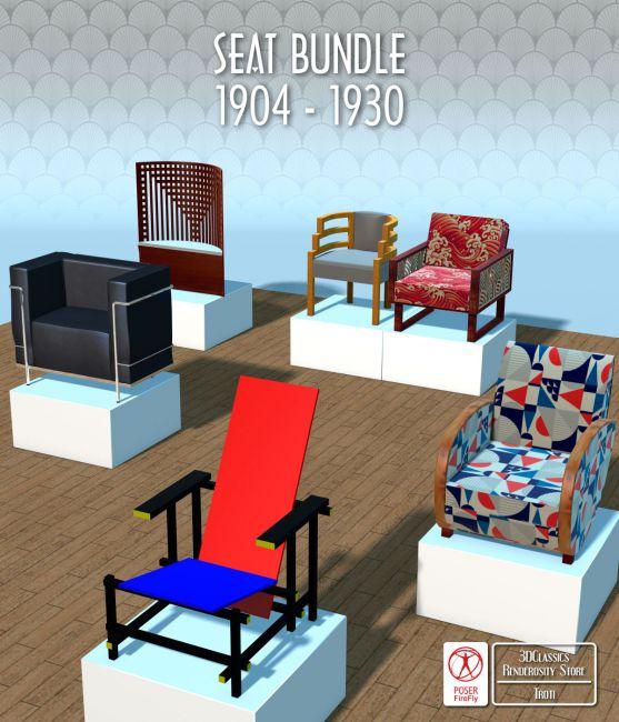FAMOUS SEATS BUNDLE1 ( prop for POSER )