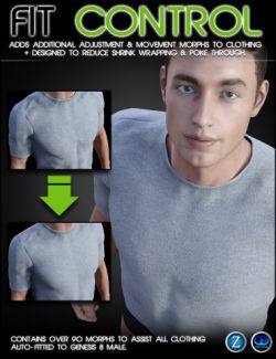 Fit Control for Genesis 8 Male(s)