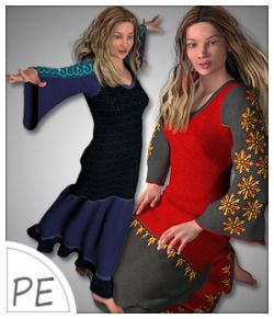 Letitia Dress and 5 Styles for Project Evolution- Poser