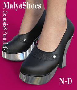 MalyaShoes for Genesis 8 Female(s)
