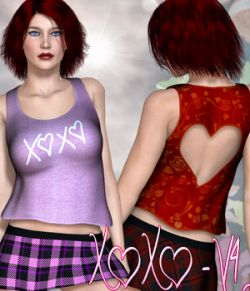 XOXO - V4 - Poser