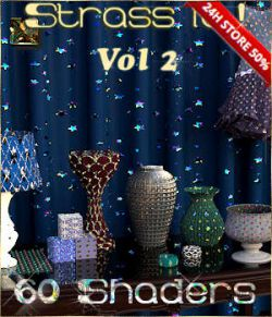 Strass it! Vol2- Shaders for DAZ-