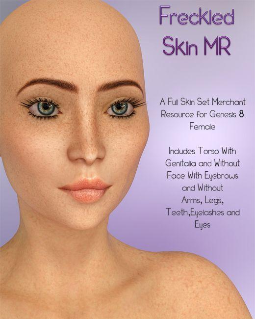 Freckled Skin G8 MR