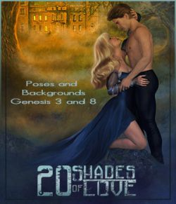 20 Shades of Love - Backgrounds and poses for G3-G8