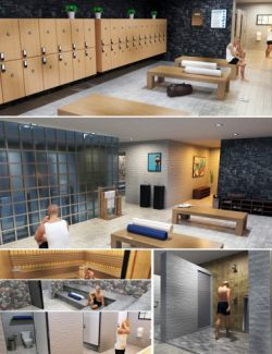 Condominium Locker Room