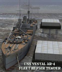 U.S.S Vestal (for Poser)