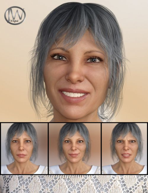 A Lady - Expressions for Genesis 8 Female(s) and Alexandra 8