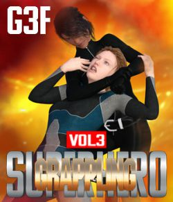 SuperHero Grappling for G3F Volume 3