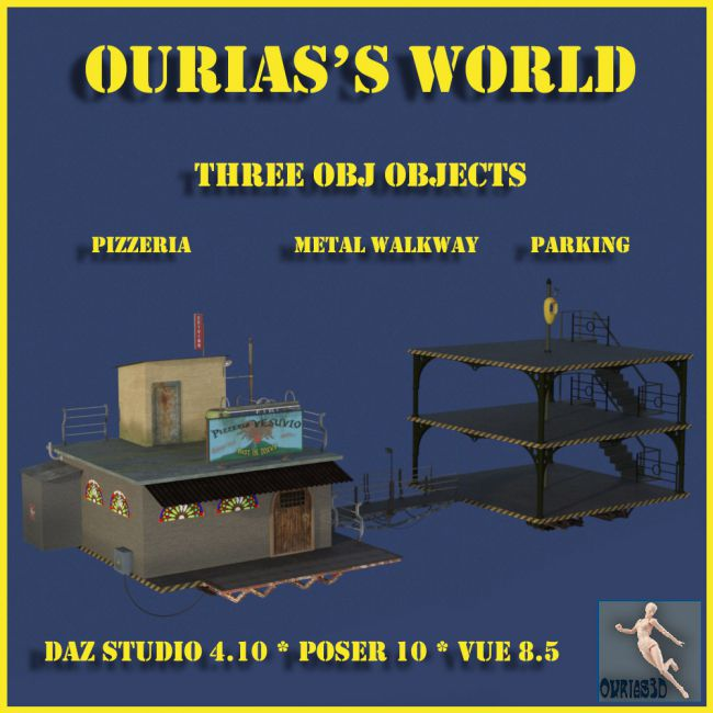 Ourias's world : Bundle Pizzeria