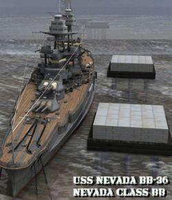 U.S.S Nevada- BB-36 for Poser